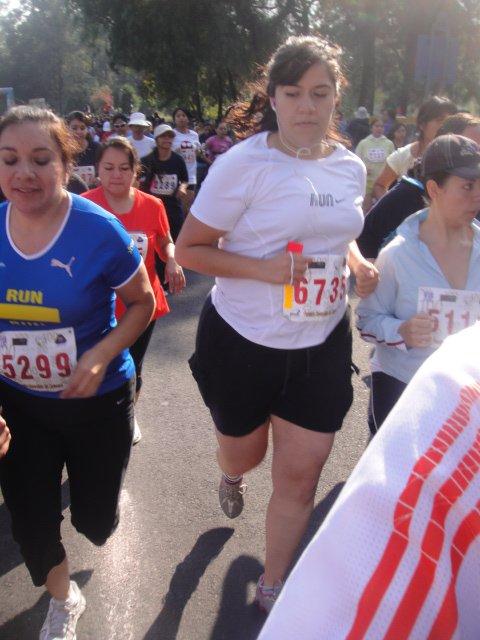 Corrí y corrí y llegué a hacer dos medios maratones :D