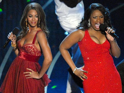 Jennifer Hundson & Beyonce Dreamgirls Oscars