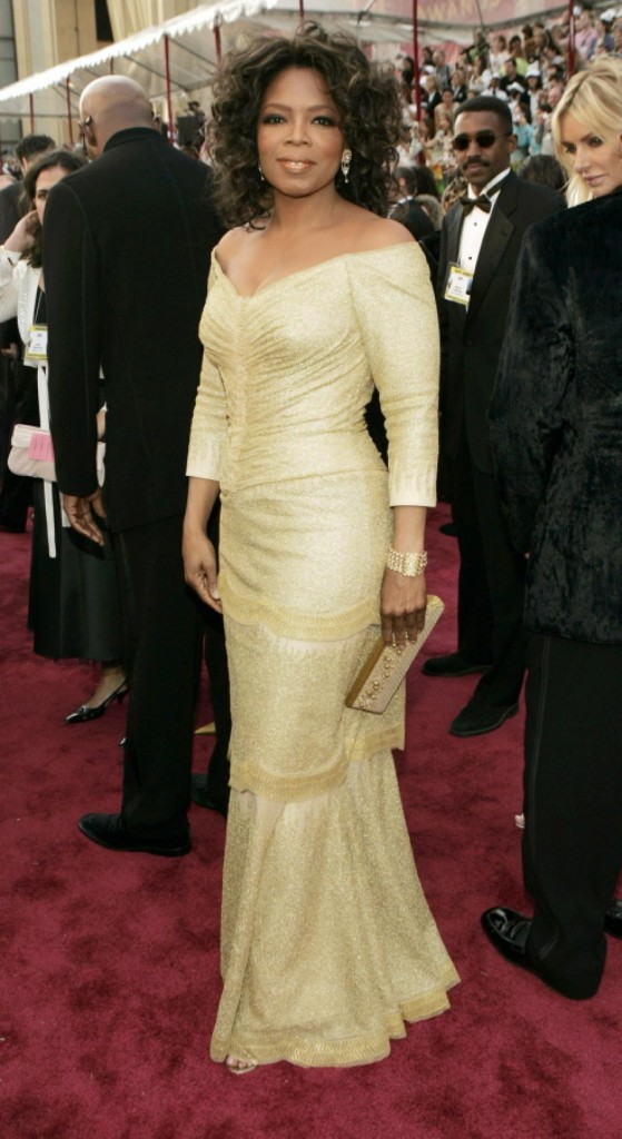 oprah 2005 oscars dress