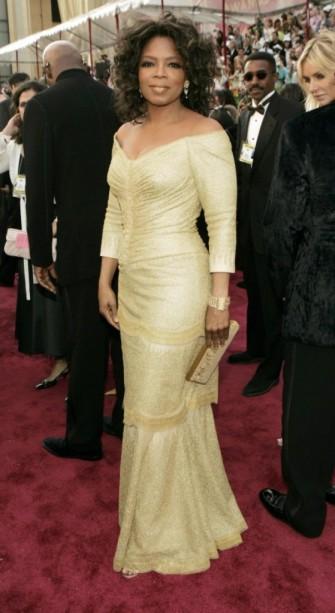 oprah 2005 oscars dress