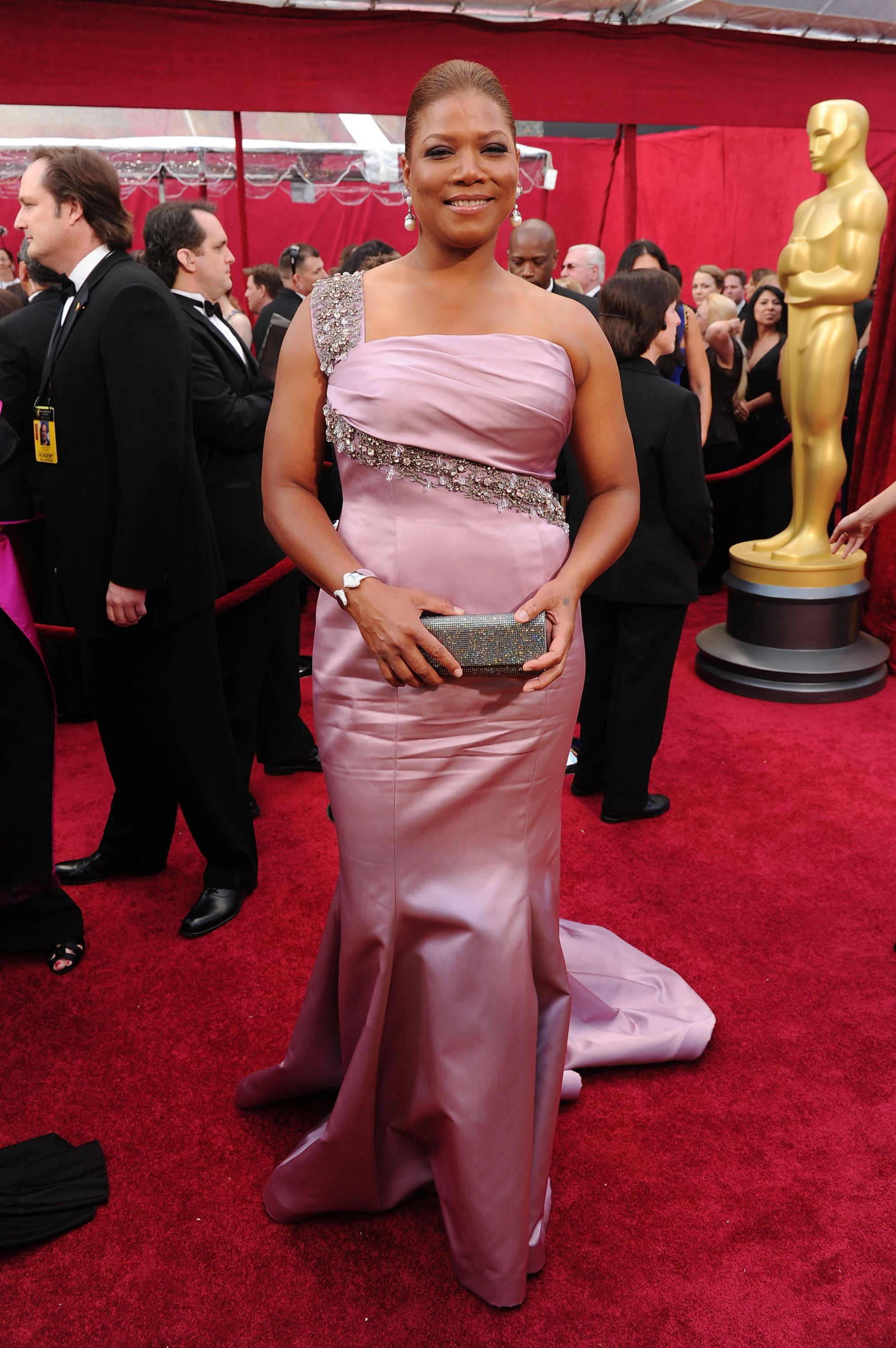 Queen Latifah Oscars 2010