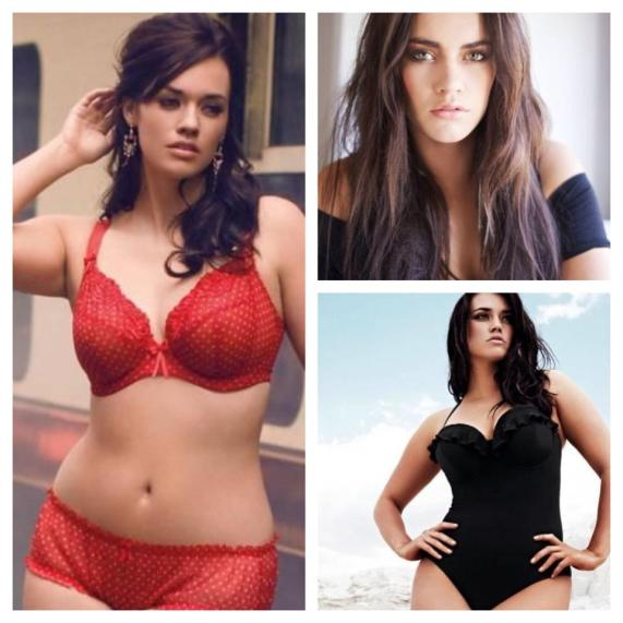 Modelo Plus Size Laura Wells